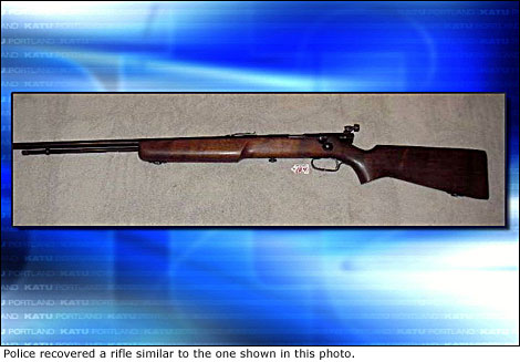 A Rifle Similar to the One Kinkle Used to Shoot His Parents and Classmates.