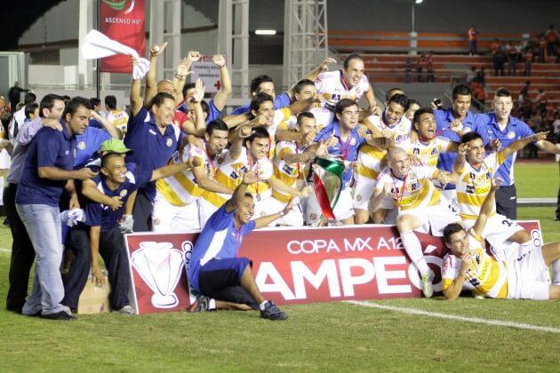 Dorados Campeón de la Primera Edición de la Copa MX.