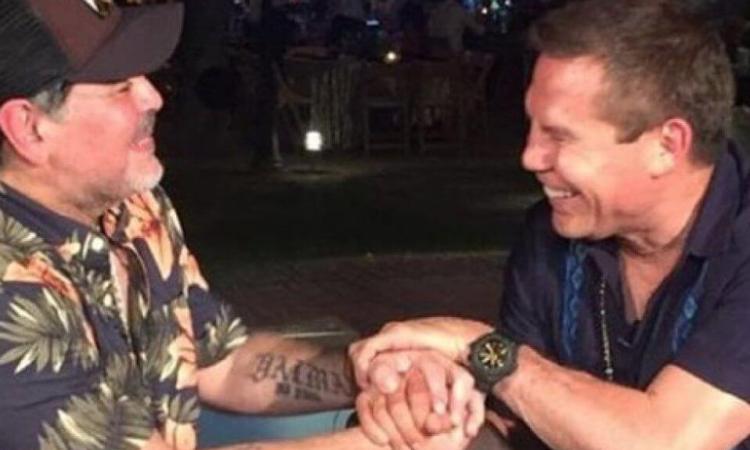 Julio César Chávez a Maradona: 'Antes me caía mal, hoy lo respeto'