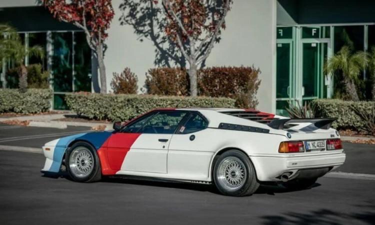 Subastan el espectacular BMW M1 que pertenecía a Paul Walker