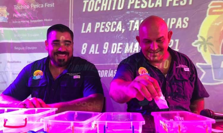Definidos los grupos del Tochito Pesca Fest 2021
