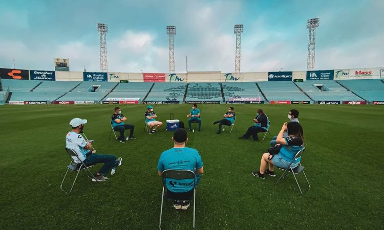 Continúan las convivencias exclusivas con abonados en el Estadio Tamaulipas
