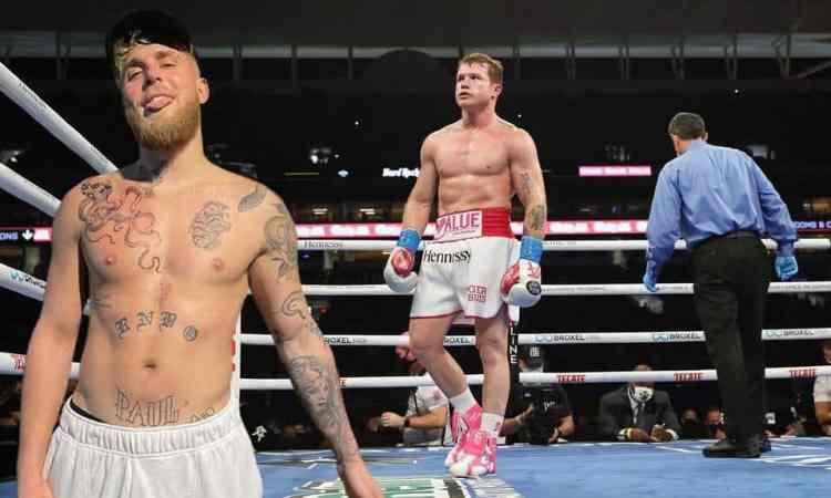 Jake Paul apunta al Canelo Álvarez y cree que pelearán por un título en 5 años