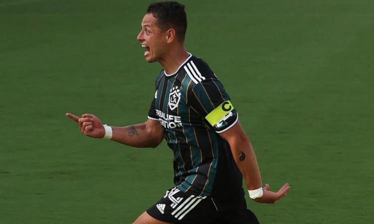 ¡Gol de Chicharito! Javier Hernández marcó con el Galaxy ante Vancouver