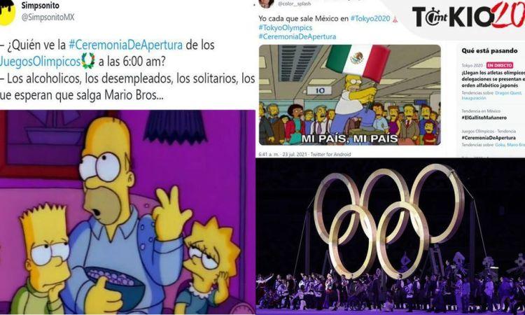 ¿Y Gokú, Mario Bros? Memes hacen corajes en Ceremonia de Apertura de Tokio 2020