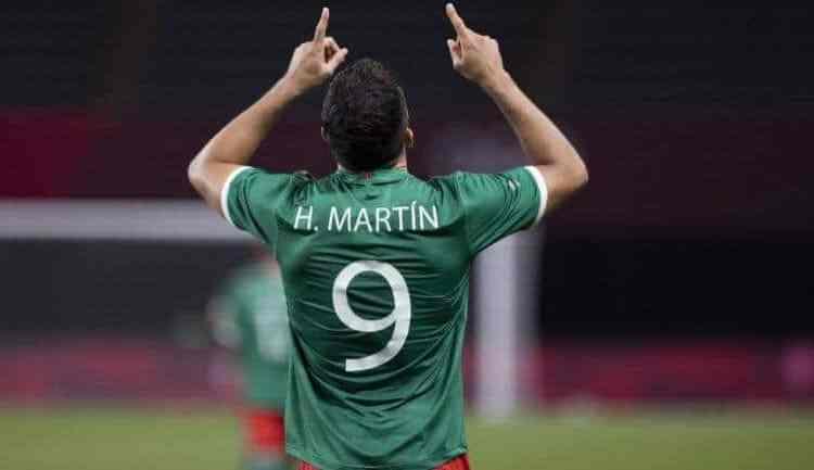 HENRY MARTÍN TRAS SU PRIMER GOL EN TOKIO 2020: 'JIMMY ME TIENE TODA LA CONFIANZA'