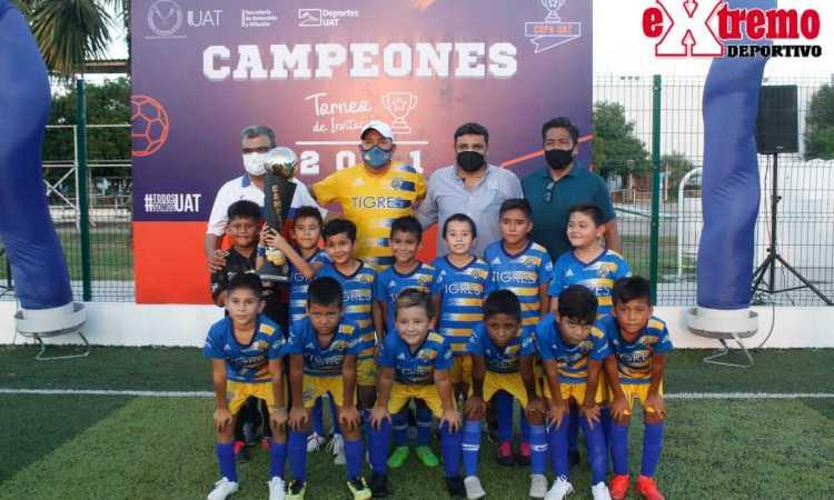 Garra de Tigre Campeón en Biberones de Copa UAT