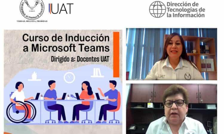 Refuerza UAT la capacitación de sus docentes en el uso de Microsoft Teams