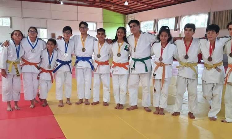 Doce medallas para Tamaulipas en Torneo Nacional de Judo
