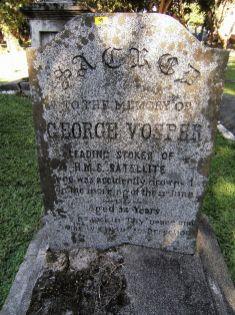 Tumba de George Vosper