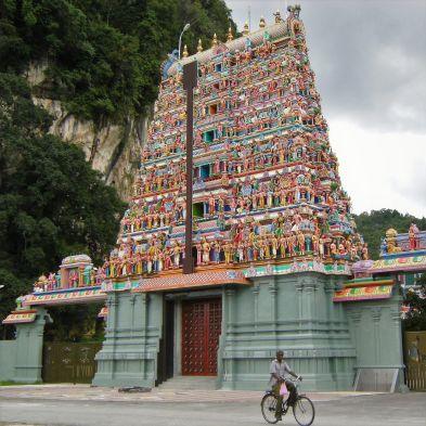 Templo hindú, Ipoh, Malasia