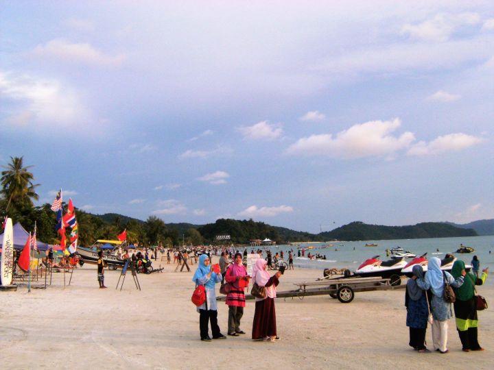 Pulai Cenang Beach, Malasia