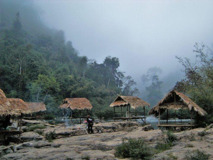 Río en Parque Natural Nam Ha