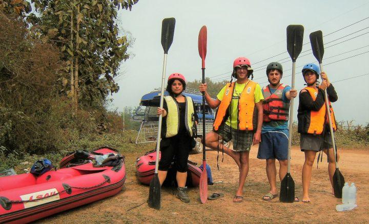 Kayaking Nam Ha Luang Namtha