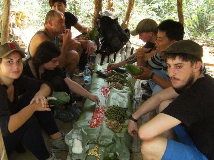 Almuerzo en Nam Ha