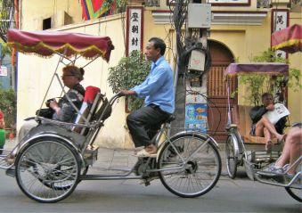 Bici taxi, Vietnam