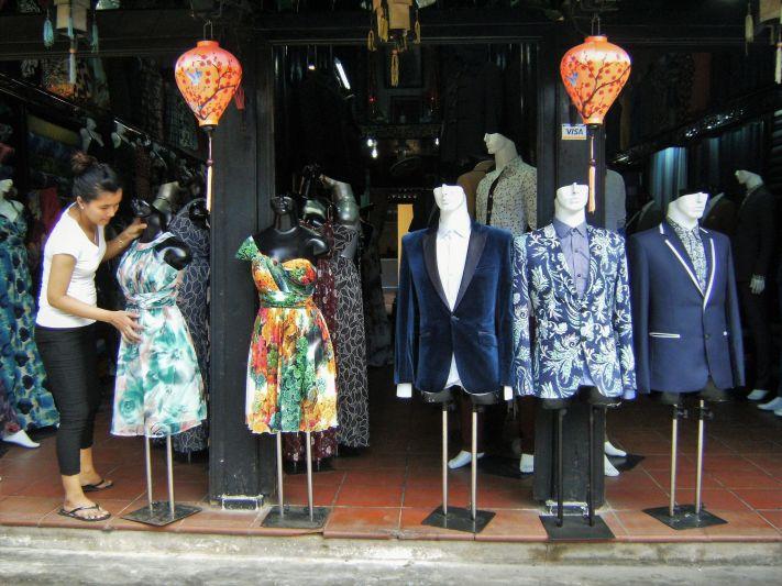 Maniquíes en Hoi An