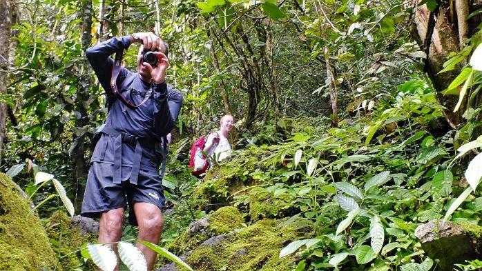 Fotógrafo, Borneo
