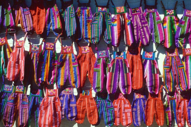 Mercadillo en Guatemala