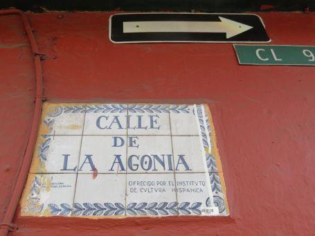 Calle de La Agonía, Bogotá