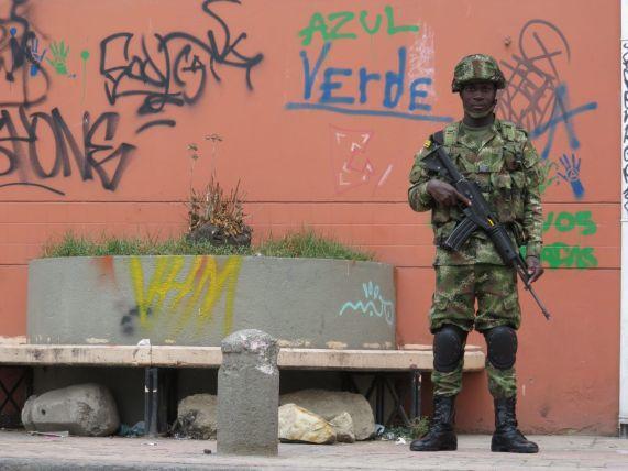 Seguridad en La Candelaria Bogotá