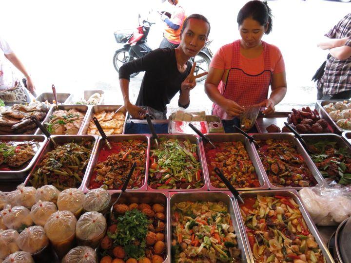 Puesto callejero de comida, Pattaya