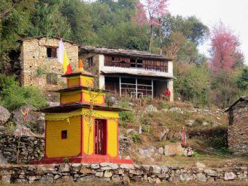 Templo hinduista, Panchamul, Nepal