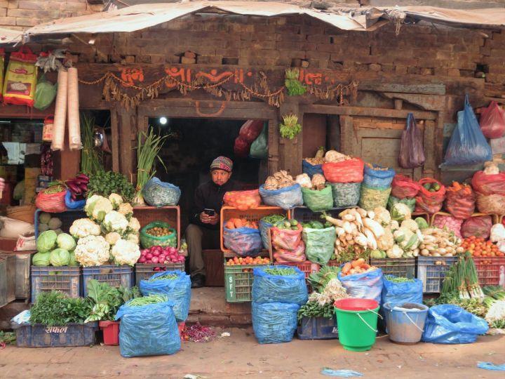 Verdulería, Bhaktapur, Nepal