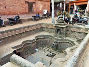 Fuente, Bhaktapur, Nepal