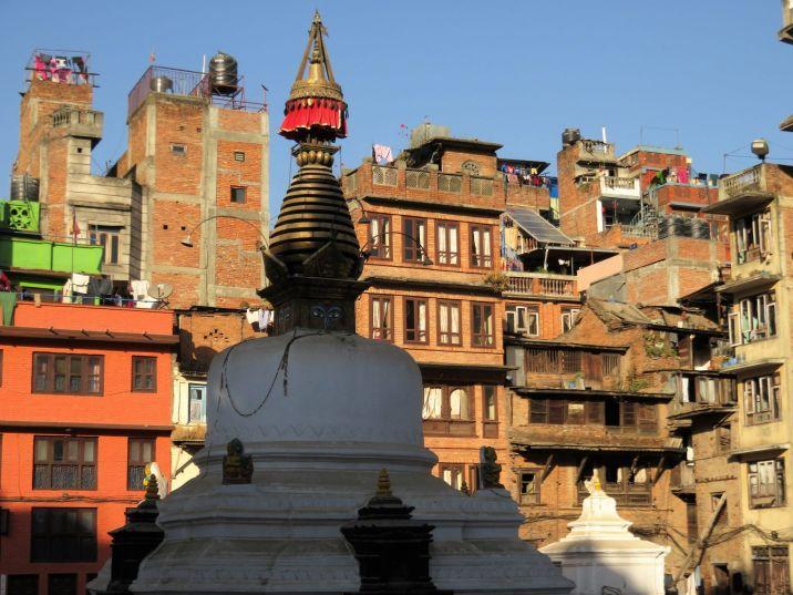 Estupa Kathesimbu Stupa, Katmandú, Nepal