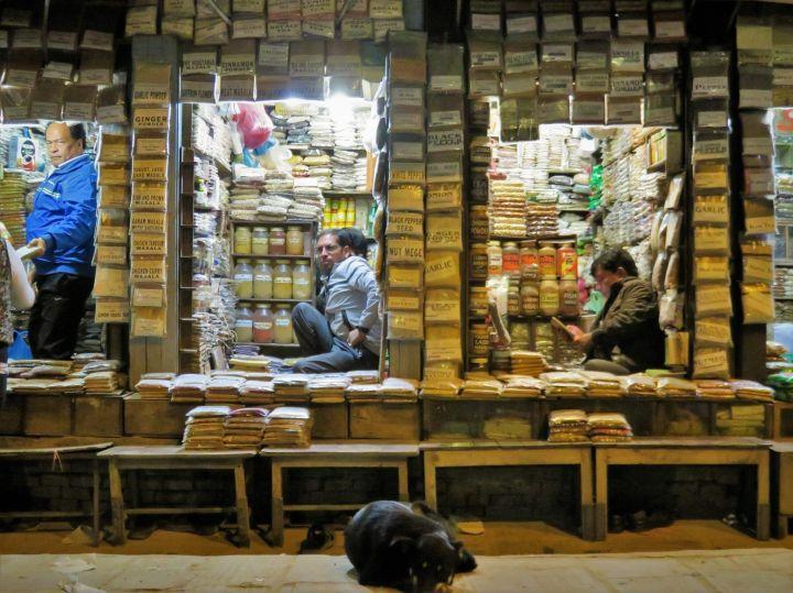 Comercios de especias, Katmandú, Nepal