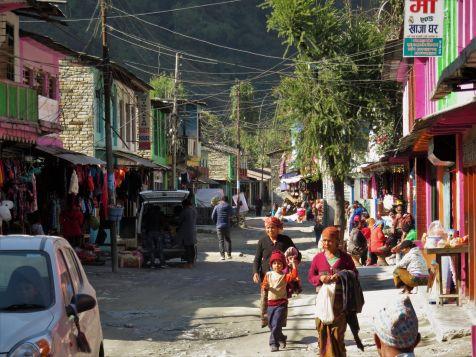 Viejo Tatopani, Nepal, Old Tatopani