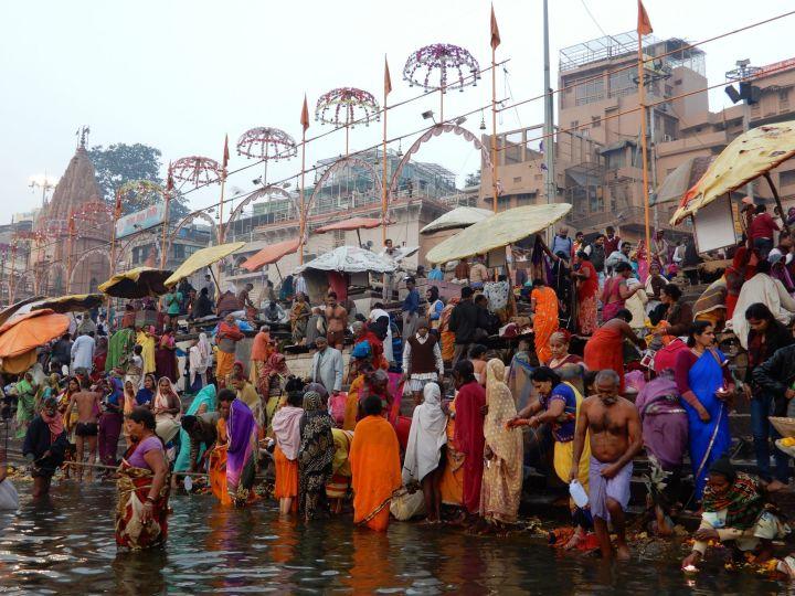 Dashashwamedh Ghat, Benarés, Varanasi, India