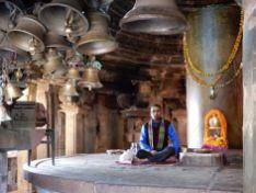 Encargado Matangeshwar Temple, Khajuraho, India