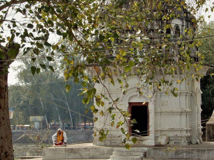 Lago Shiv Sagar, Khafuraho, India