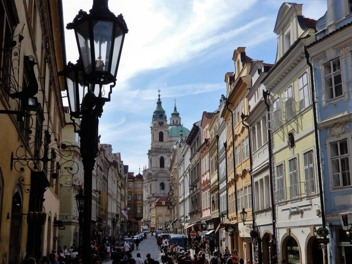 Calle Mostecká, Praga, República Checa