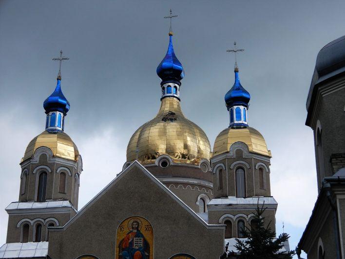 Iglesia en Bolekhiv, Ucrania