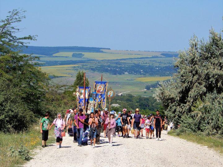 Moldavia, Procesión