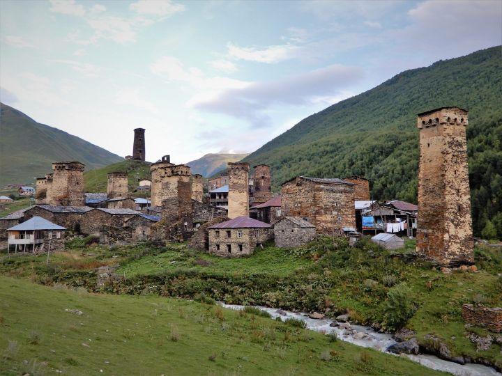 Georgia, Svaneti, Ushguli Village