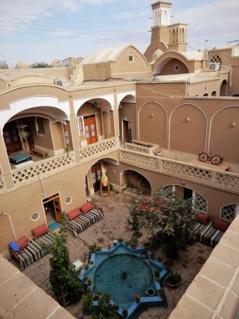 Guest house, Kashan, Iran