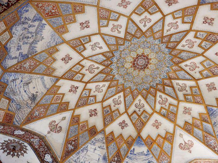 Fin Garden Dome, Kashan, Iran