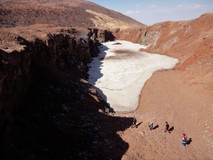 Salt Mountain (Dome), Qom, Iran
