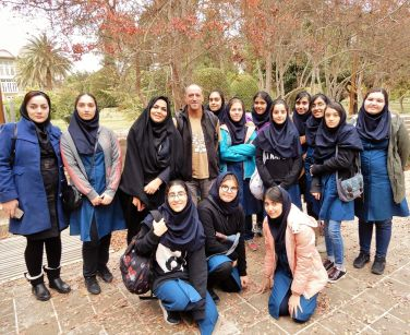 Grupo de inglés, Eram Garden, Shiraz
