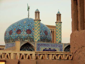 Cúpula y torre de viento, Yazd, Iran