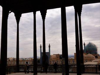 Palacio Ali ´Qapu Palace, Isfahan, Iran