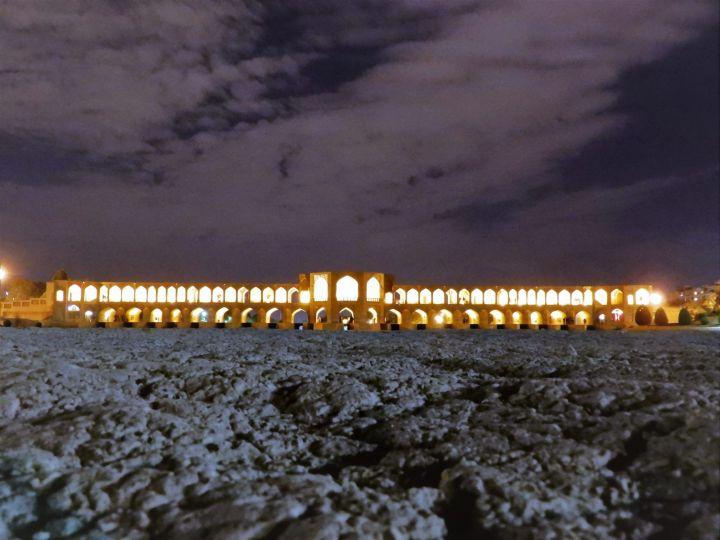Puente Khaju Bridge, Isfahan, Iran