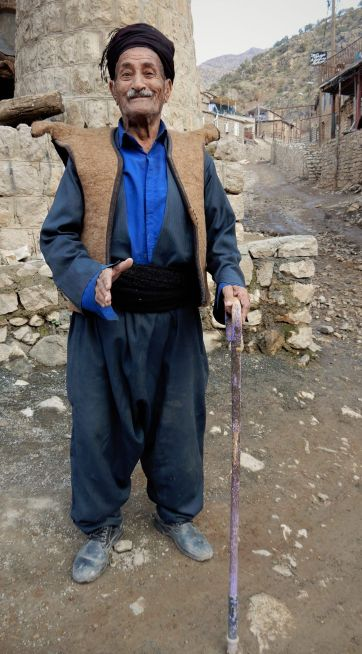 hombre kurdo Palangan