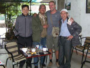 Amigos vietnamitas
