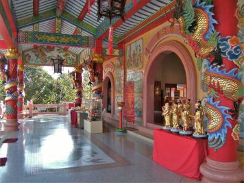 Hall del templo
