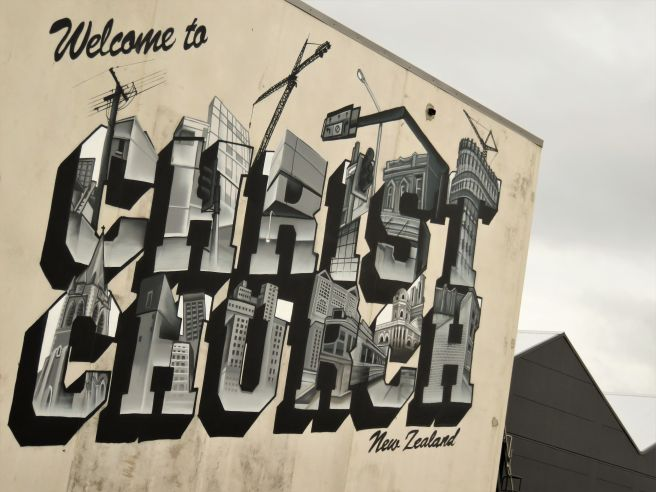 Grafitis en Christchurch